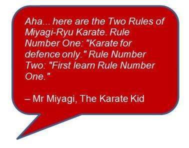 Quote Karate Kid