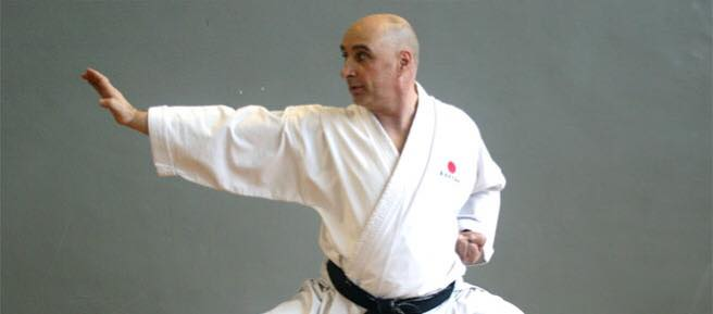 Training & grading with Sensei Garry Harford, 14 May 2017
