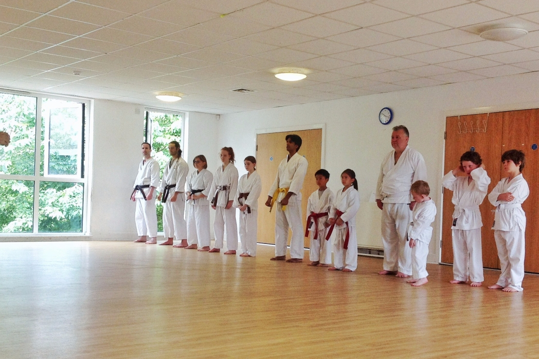 Training with Sensei Neil Jerome, 29 July 2017