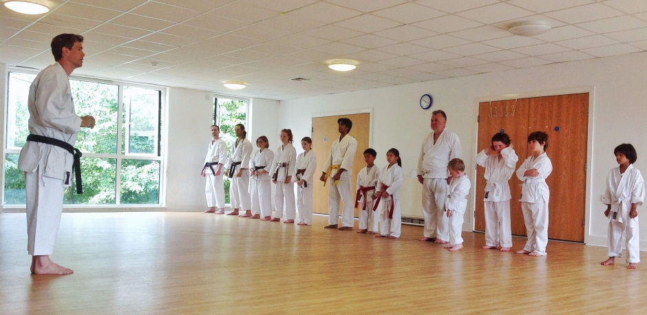 Senshi Karate class with Sensei Neil 29 July 2017