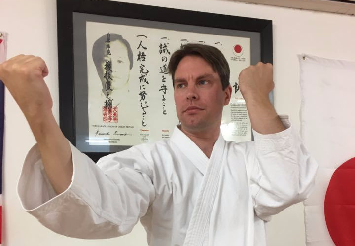 Training with Sensei Carl Howard, 15 September 2018