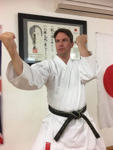 Sensei Carl Howard