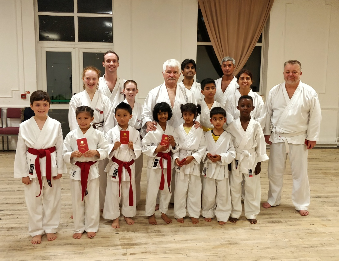 Training & grading with Sensei Bob Rhodes, 18 October 2017