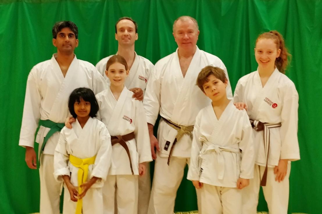 Training & Grading with Sensei Frank Brennan, 19 November2017