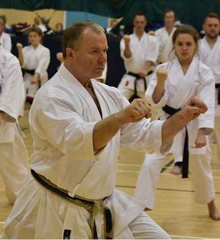 Training & grading with Sensei Frank Brennan, 17 November 2018 @9.30