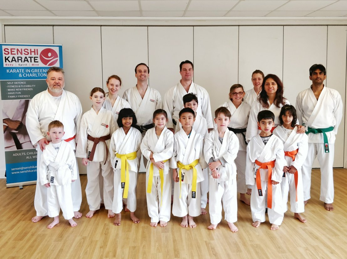 Training with Sensei Carl Howard, 27 January 2018