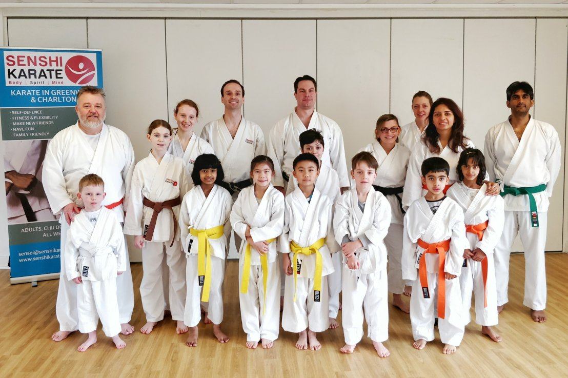 Training with Sensei Carl Howard, 27 January2018