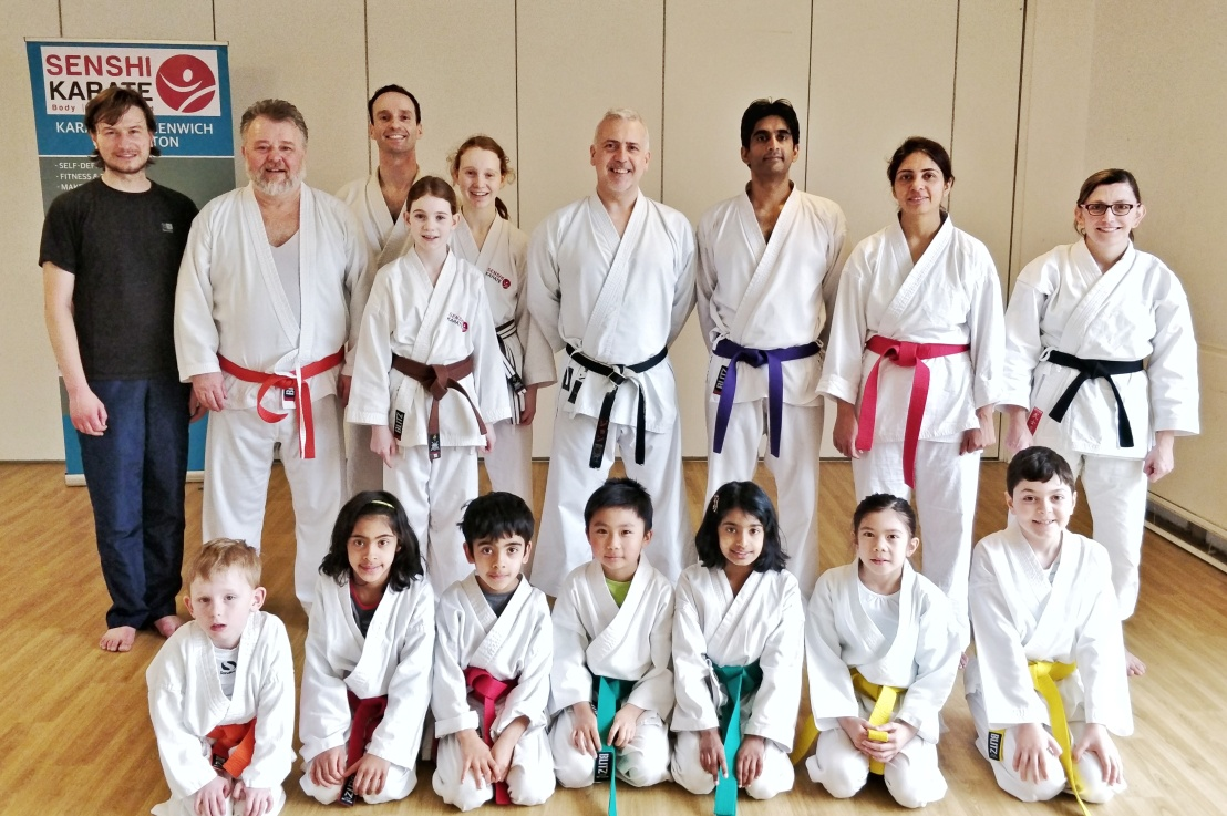 Training with Sensei John Parnell, 10 March 2018