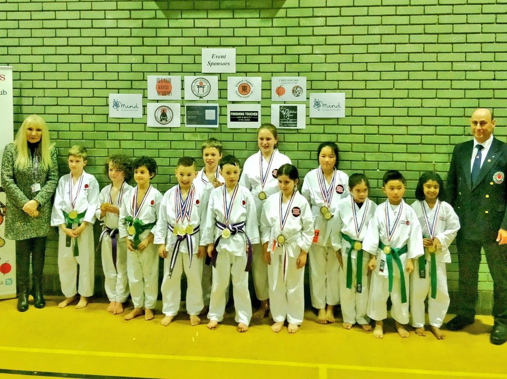 Team Senshi, 4th place at Tigers Comp