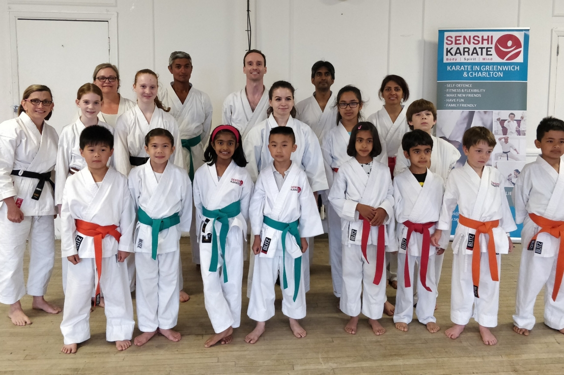 Training with Sensei Cristina Finta, 13 June 2018