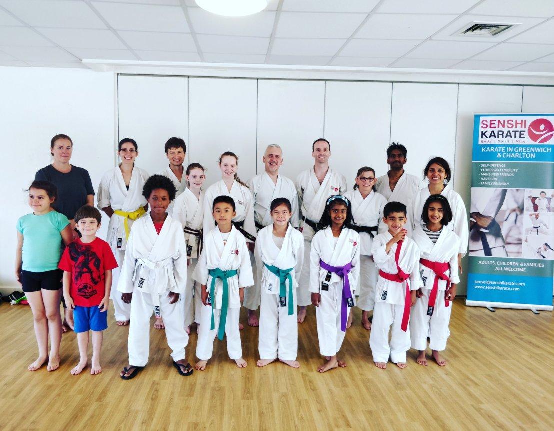 Training with Sensei John Parnell, 14 July2018