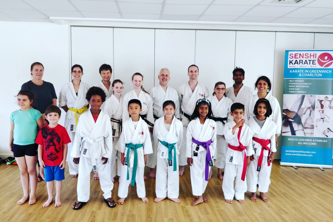 Training with Sensei John Parnell, 14 July 2018