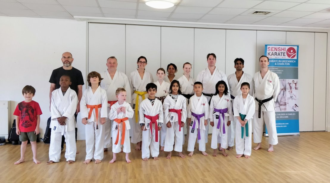 Training with Sensei Carl Howard, 15 September2018