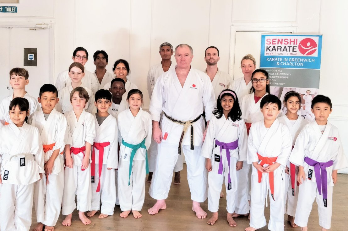 Training & grading with Sensei Frank Brennan, 17 November 2018