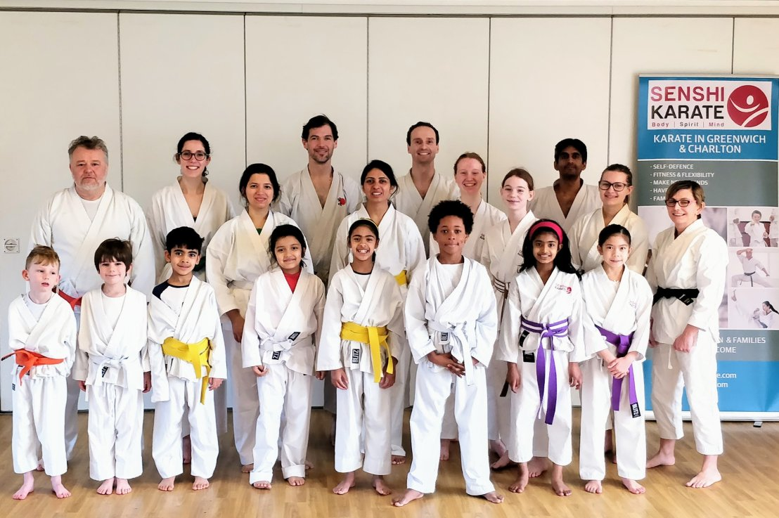 Training with Sensei Neil Jerome, 9 February 2019