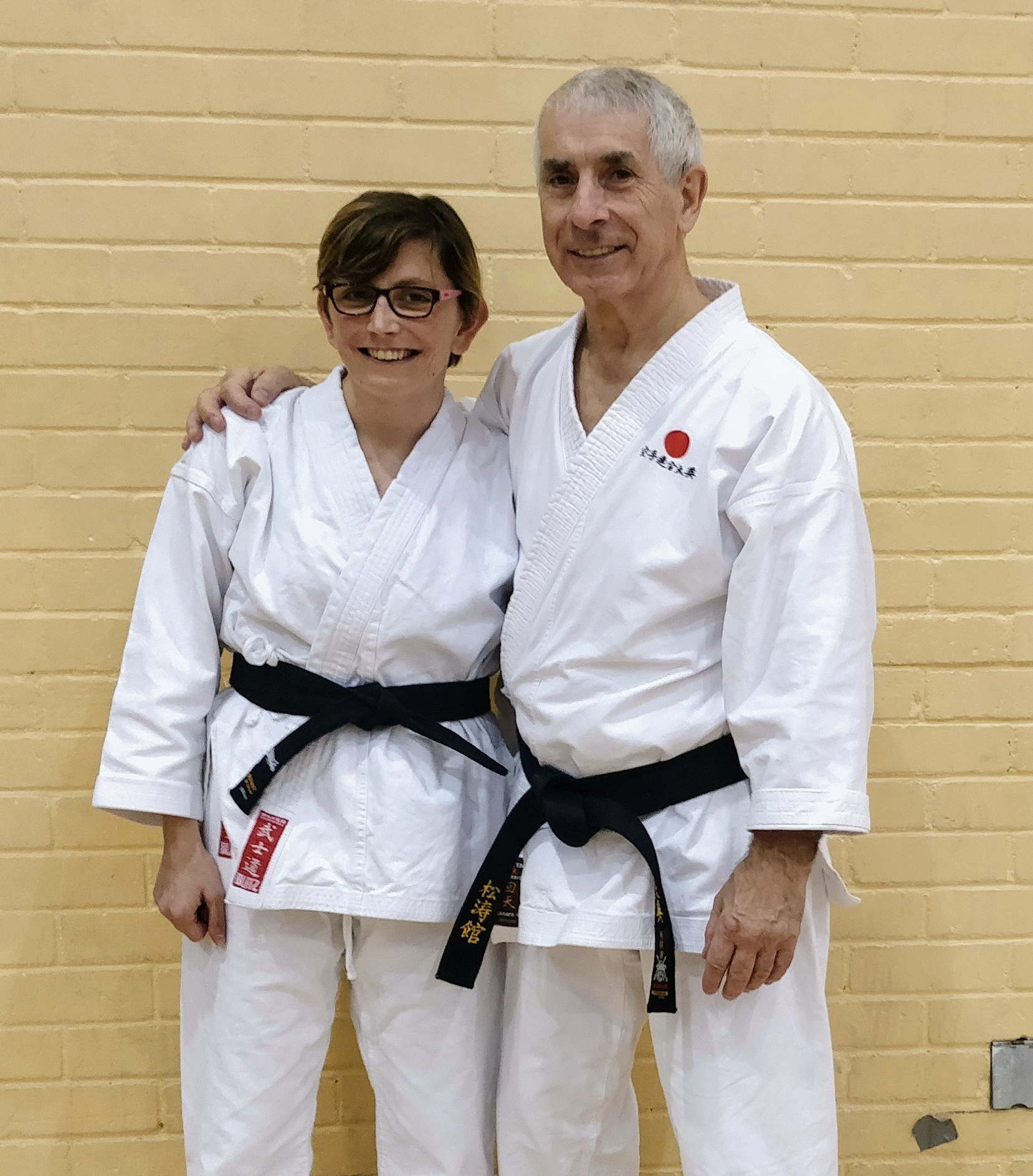 Alex and Sensei Andy Sherry