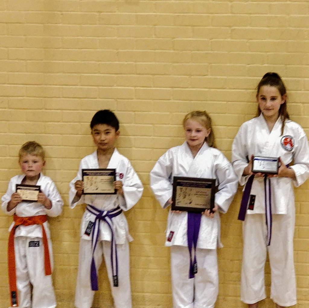 Jimmy came second in kata