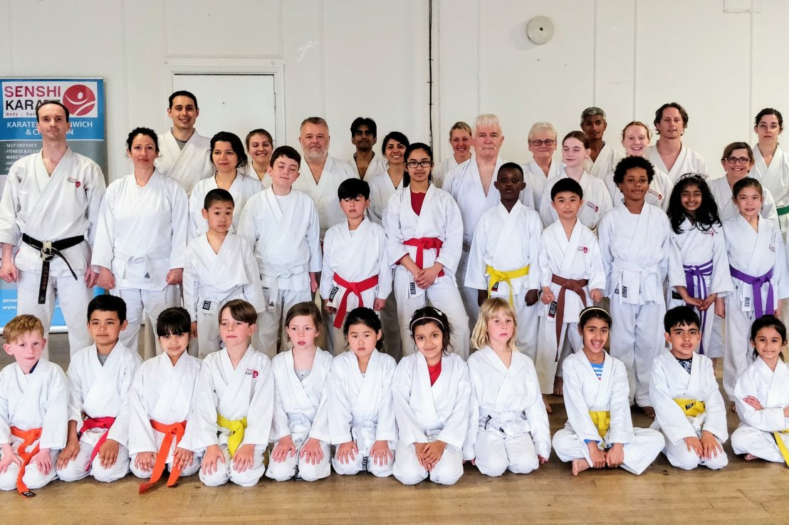 Training & grading with Sensei Bob Rhodes, 1 May2019