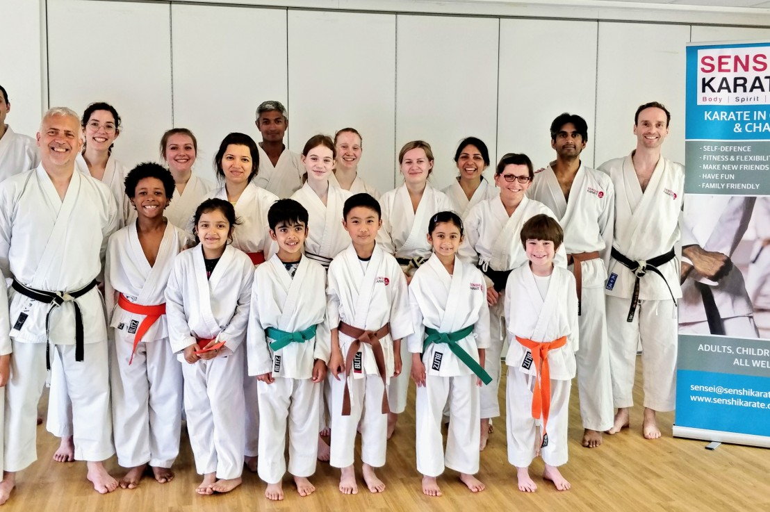Training with Sensei John Parnell, 15 June2019