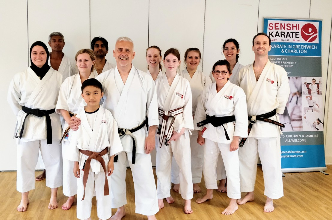 Speed training with Sensei John Parnell, 9.15am Saturday 20 February 2021