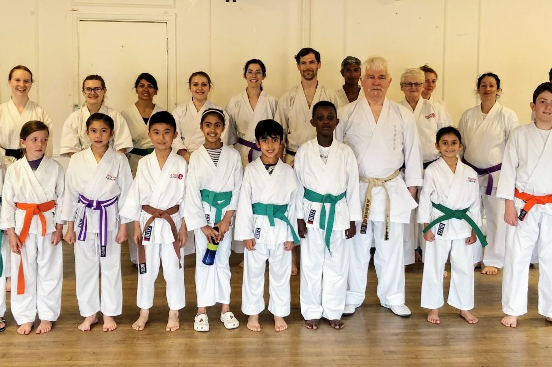 Special kata course with Sensei Bob Rhodes, 3 July2019