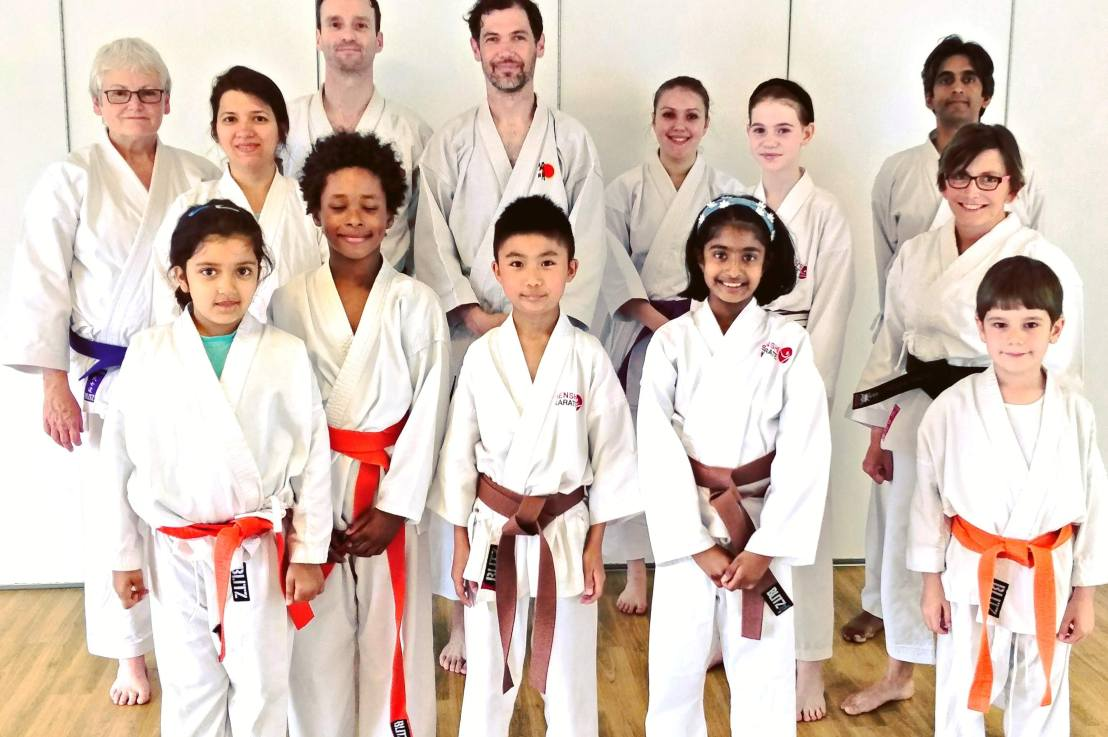 Training with  Sensei Neil Jerome, 6 July 2019