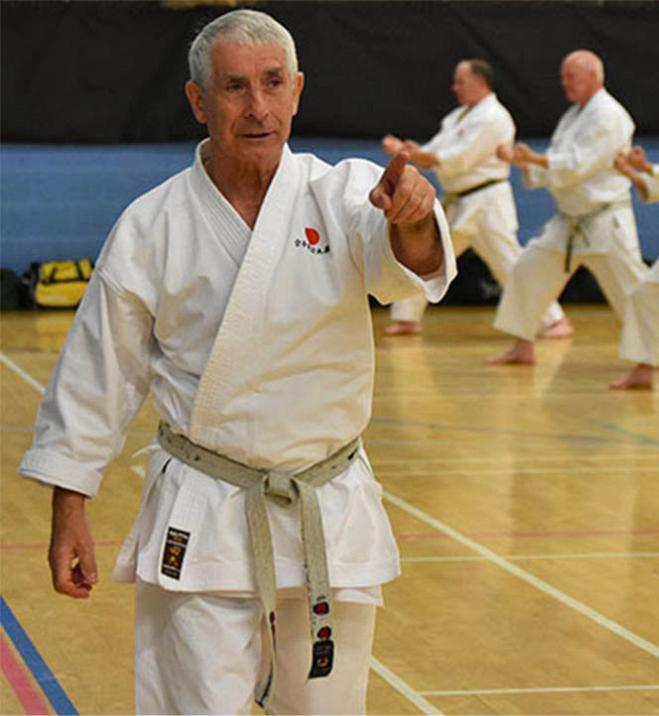 Training & grading with Sensei Andy Sherry, 19 June 2020