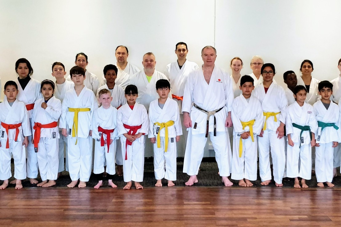 Training & grading with Sensei Frank Brennan, 16 November 2019