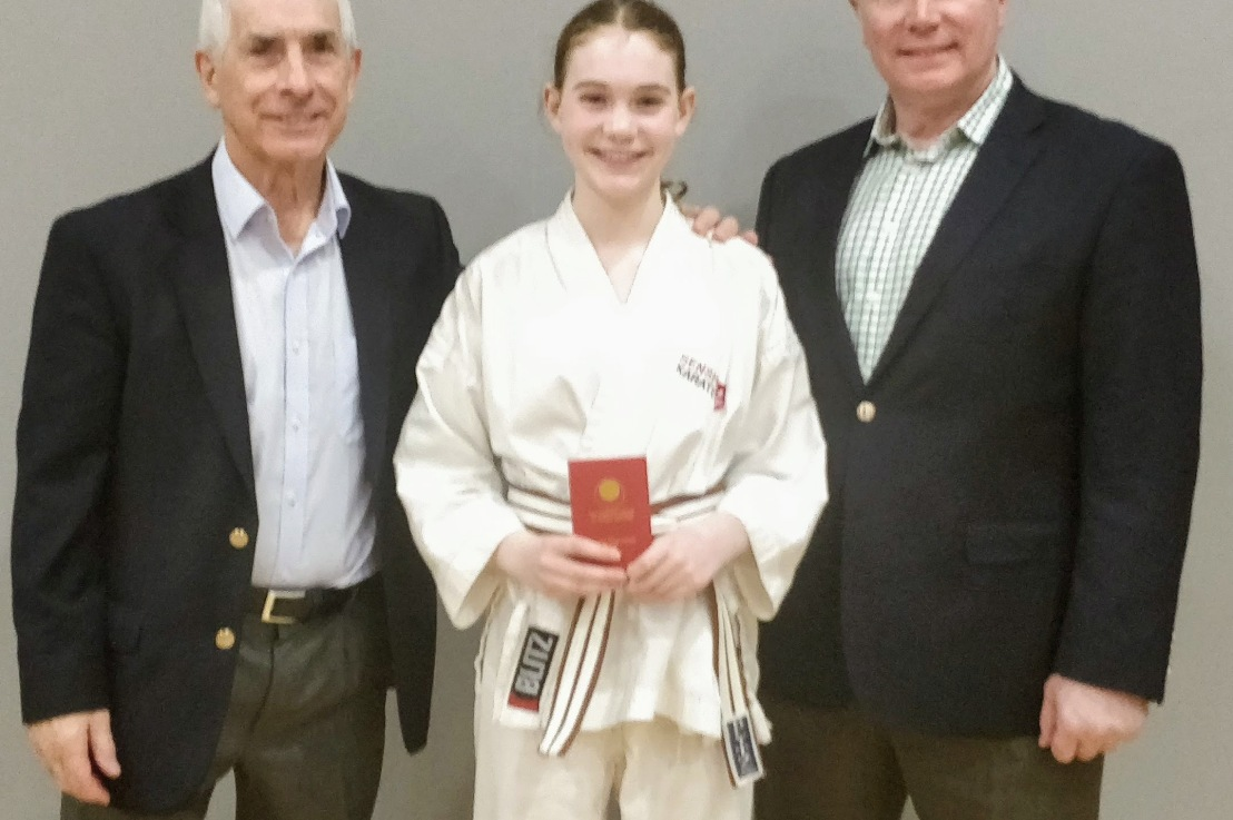 Brown & black belt training & grading, 30 November2019