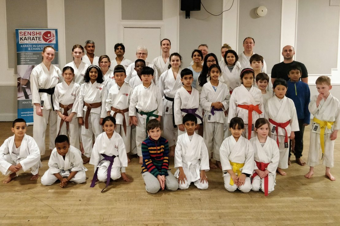 Training with Sensei Cristina Finta, 5 February 2020