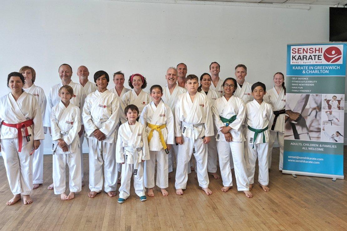 Training & kyu grading, 20 October2021